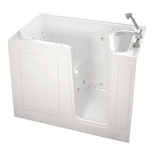 American standard walk in bathtub for Standard shower tub combo dimensions