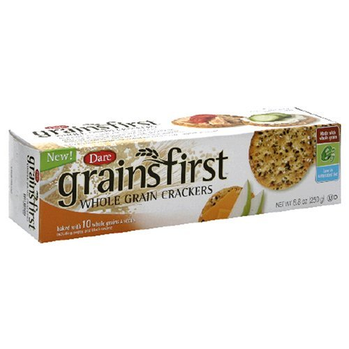 Dare Grainsfirst Crackers, 8.8-Ounce Packages (Pack of 6) by Dare