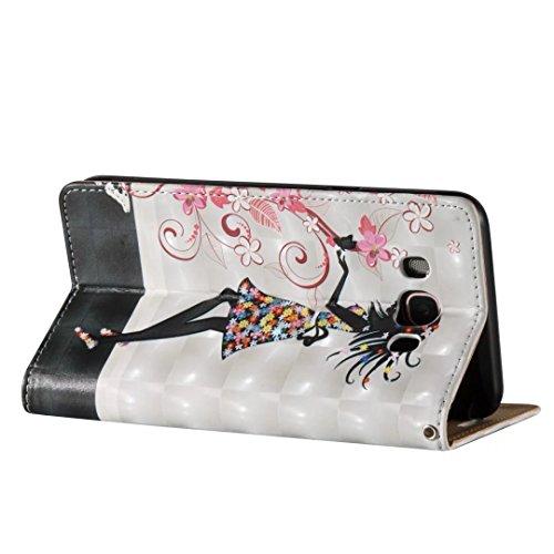 Samsung Galaxy J7 2016 PU Cuero Funda, Vandot 3D Bling Rhinestones Mariposa Shell TPU Inner Bumper Case Funda con Billetera Tapa Holster Cierre Magnético Tarjeta Ranura Carcasa Teléfono Concha Bolsa C FDQC 05