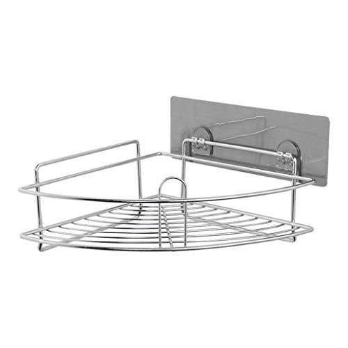 UMFunStainless Steel Bathroom Shelf Shower Cosmetic Bath Storage Organizer Rack Hold -
