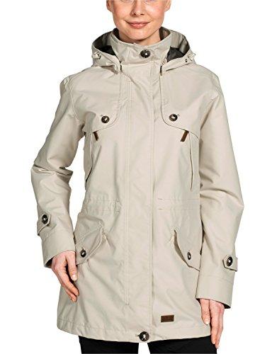 Jack wolfskin damen mantel queenstown coat