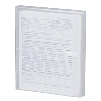 """Amazon.Com : Smead Poly Envelope, 1-1/4"""" Expansion, Hook-And-Loop"""