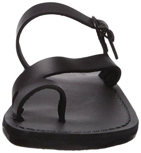 Jerusalem Sandals Women's Nuri Slide Sandal Black sgtd5