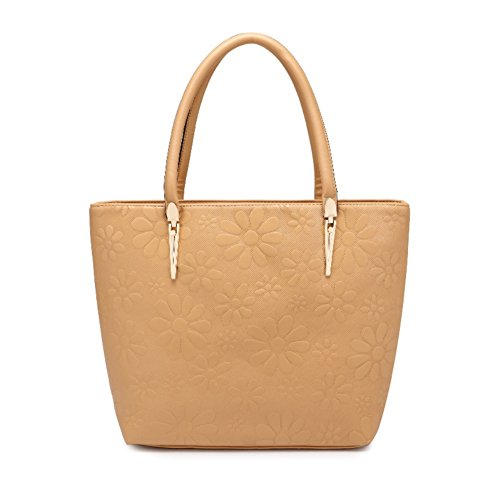 Hobop Shb700007c5 Pu Leather European And American Style Women's Handbag Bucket-type Bucket Bag