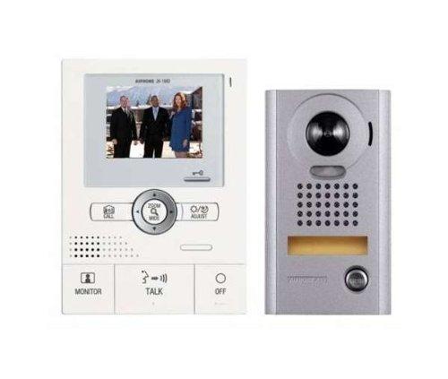 Aiphone JKS-1ADV Hands-Free Set (JK-1MD Master Monitor, PS-1820UL Power Supply, and JK-DV Door Station), Best Gadgets