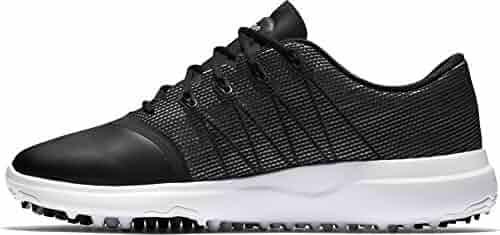 sports shoes 9c1d8 0eac6 NIKE Golf Lunar Empress 2 (Black Metallic Silver White, 7.5 W)