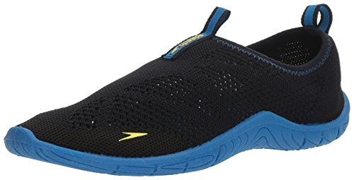 Speedo Women's Surf Knit Athletic Water Shoe, Navy/Blue, 10 C/D US from Speedo