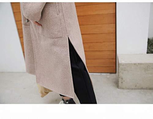 Lana colore Fuweiencore Lungo Small Formato A Femminile Di Cappotto Studentesco Dimensione In Autunno A Sen xBwYZgq