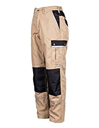 TMG® Heavy Duty Cargo Work Trousers with Knee Pads Pockets