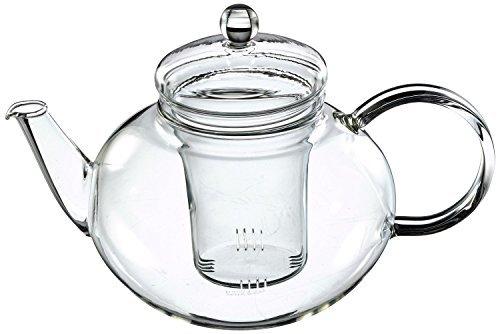 Trendglas Jena Miko Tea Pot Classic Design with Glass Sieve 1.2 Litres ()