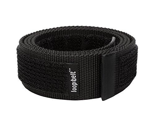 Inner Belt (Loopbelt XL 46-50 No Scratch Reversible Web Belt with Advanced Hook & Loop Fasteners)