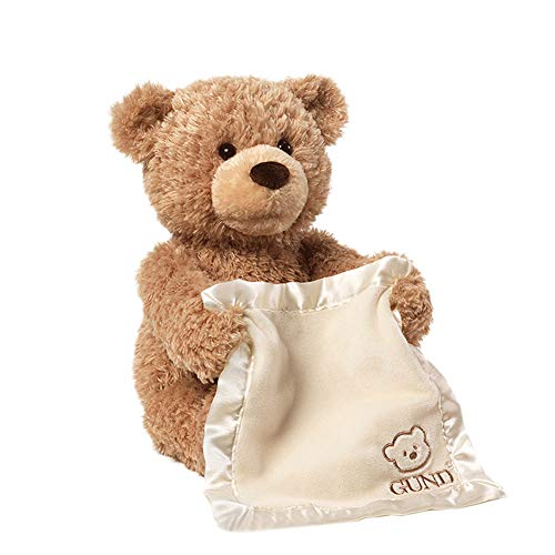 Goodfeng 30cm Talking Cartoon Bear Plush Doll Stuffed Animals Play Toy Gifts Animal Zoo Pet Throw Bed Nursery Decoration Baby Play Toy Puppy Shape Sleeping Pillow Gift for Girl Boy -