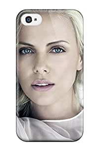 Snap-on Charlize Theron 37 Case Cover Skin Compatible With Iphone 4/4s