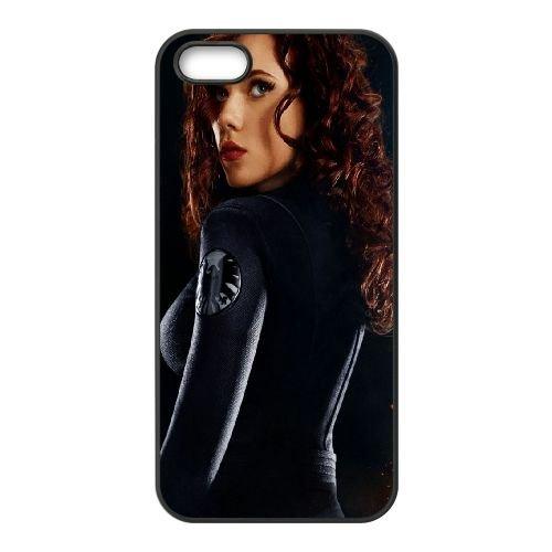 901 Scarlett Johansson Actress Women L coque iPhone 5 5S cellulaire cas coque de téléphone cas téléphone cellulaire noir couvercle EOKXLLNCD21172