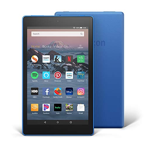 "Fire HD 8 Tablet (8"" HD Display, 16 GB)  - Blue (Previous Generation - 8th)"