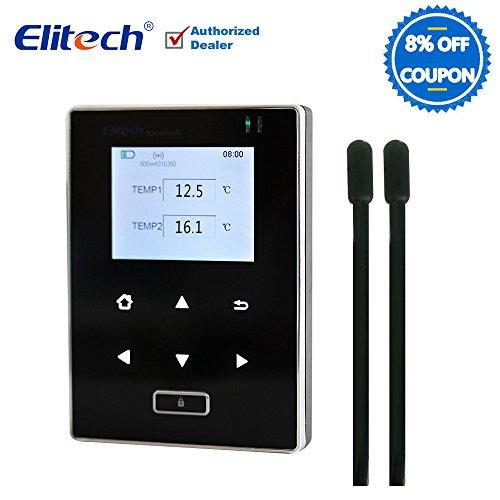 Temperature Data Logger Wifi Refrigerator Temp Monitor Recorder Wireless Thermometer (RCW600-Two Temp Sensors)