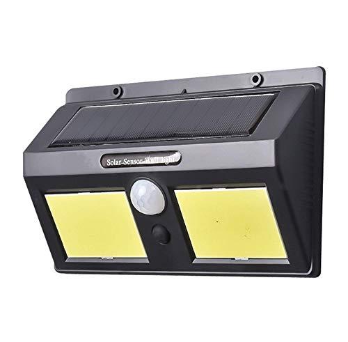 - Fogar Solar Motion Sensor Light Outdoor 96 COB LED Solar Lights Outdoor 3 Optional Modes Double-Sided Lighting Outside Lights Upgraded Waterproof Super Bright Solar Wall Lights for Outdoor Garden