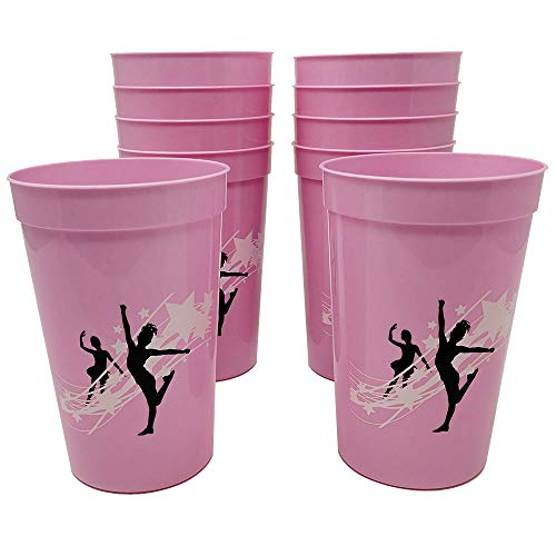 Dance Party 12-Ounce Cups -