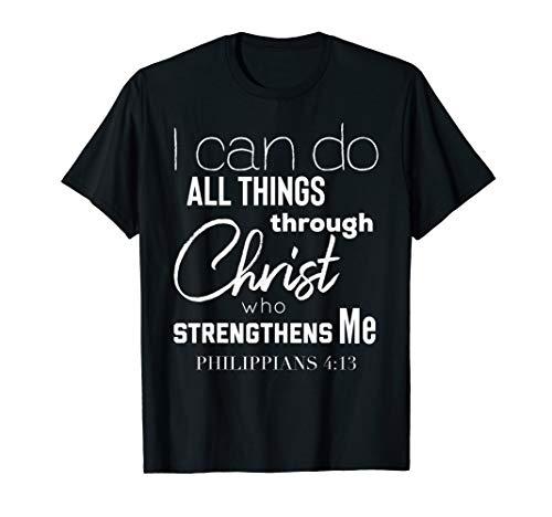 Christian Themed Bible Verse T-Shirt Jesus Christ Tee