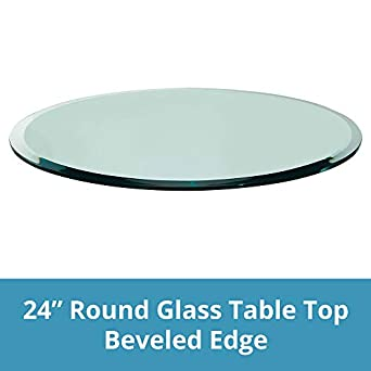 amazon com troysys glass table top beveled edge tempered glass rh amazon com beveled glass table top beveled glass table top replacement