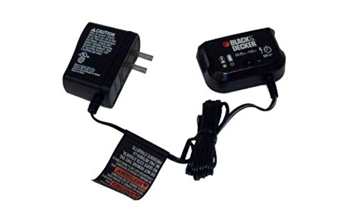 Black and Decker Multi-Volt Charger for 9.6 Volt Thru 18 Volt Slide Pack Batteries