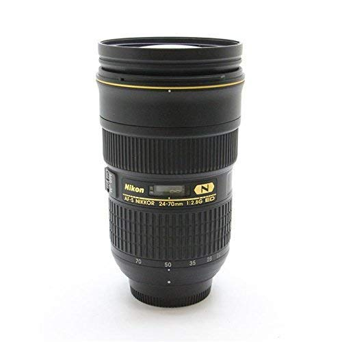 Nikon Zoom Wide Angle Telephoto 24-70mm F/2.8g Af-s Nikkor Ed Autofocus Lens New (International Model No Warranty) (Nikkor 24 70mm F 2-8 G Ed)