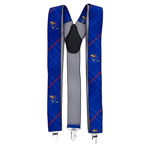 - Eagles Wings EAG-8011 Kansas Jayhawks NCAA Oxford Mens Suspenders