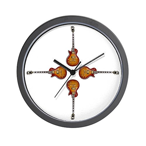 CafePress - Les Paul Wall Clock - Unique Decorative 10