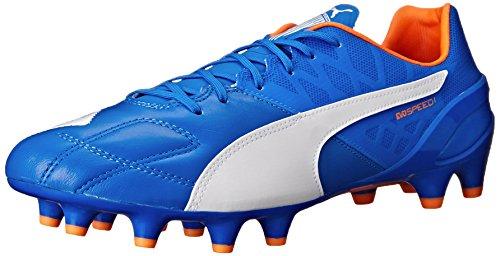 Puma Evospeed 1.4lthfg Botas de fútbol Electric Blue Lemonade/White/Orange Clownfish