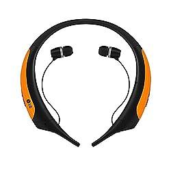 Lg Electronics Tone Active Premium Wireless Stereo Headset - Retail Packaging - Orange