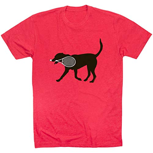 Tennis Tees by ChalkTalk SPORTS Tanner the Tennis Dog T-Shirt
