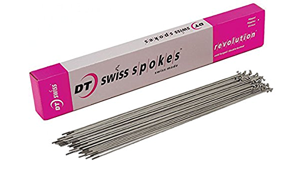DT SWISS 2.0 X 12MM SILVER ALLOY BICYCLE SPOKE NIPPLES--BOX OF 72