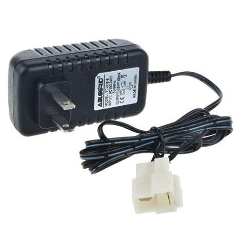 Amazon.com: 6 V 0,5 A adaptador de cargador para Kid Trax ...