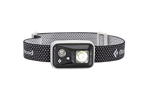 Black Diamond Spot Headlamp: 300 Lm, Waterproof, Dimmable, Strobe, Red Night-Vision.