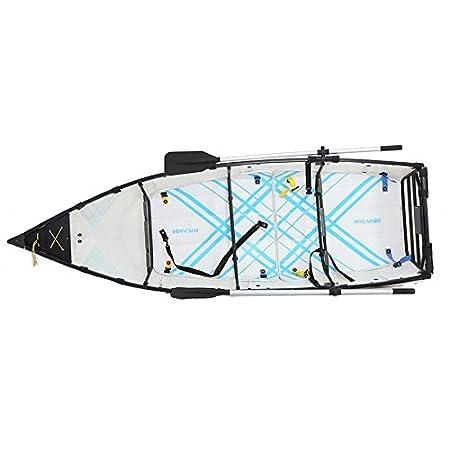 Barca Pieghevole Trasportabile.Mycanoe Origami Barca Pieghevole Da 2 9 M Leggera E
