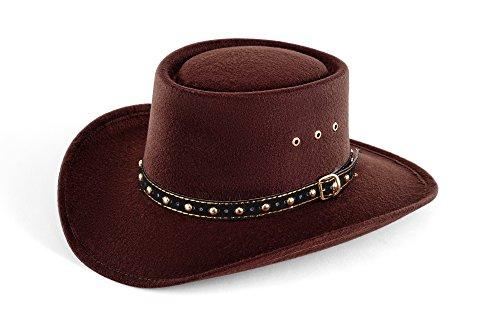 Western Faux Felt Gambler Cowboy product image