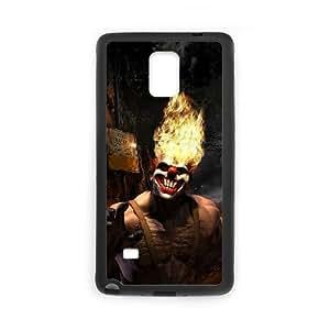 Samsung Galaxy Note 4 Cell Phone Case Black_Superhero Captain America, Spider Man, Iron Man, Wolverine, ant man, Green Arrow, Batman, Joker Logo (40) Iifcq
