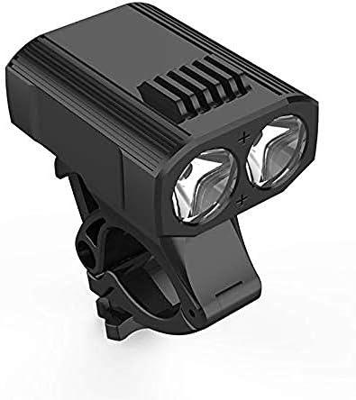 A-Generic Feux de vélo LED vélo lumière Mini vélo lumière 2 LED 5 Mode 2000LM USB Rechargeable vélo Avant Lampe arrière Feux Camping LED