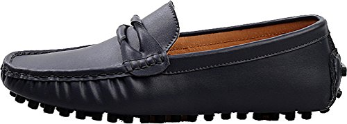 Driving Black Doug Flat Leather Mens QZ Message Abby Fashion 508 Comfort Shoes Cosiness Cozy 8COFRSxwq