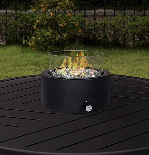 Better Homes Garden s Tremont Round Gas Burning Tabletop Fire Pit