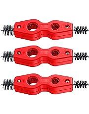 Koperen buis borstel 4 in 1 pijp ontbramen borstel cleaner tool met antislip handvat 3pcs, batterij borstel
