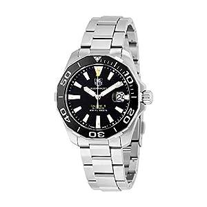 Tag Heuer Aquaracer WAY211A.BA0928 - Reloj automático para hombre, esfera negra 1