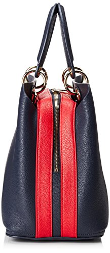 Blue Women's Satchel Red Bag Hilfiger Tommy Core Navy Th Tommy Tommy wZY5Tx7qI