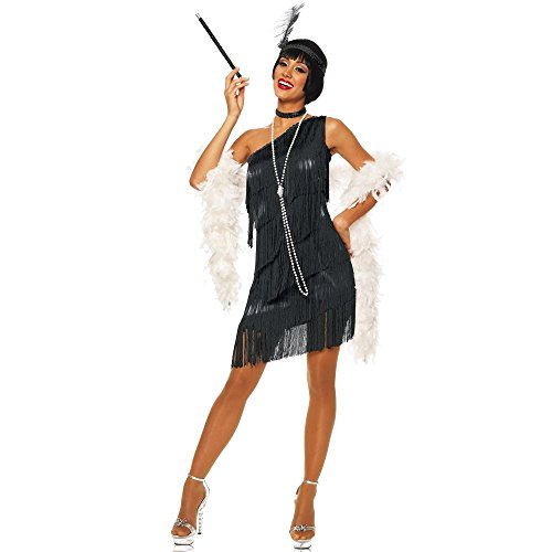 Costume Culture by Franco LLC Sexy 20s Flapper Black Frin...