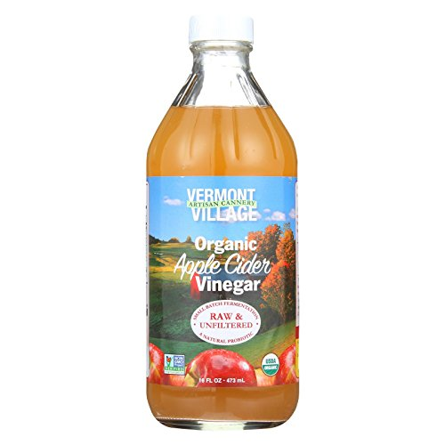 Vermont Village Vinegar Apple Cider Organic, 16 ()
