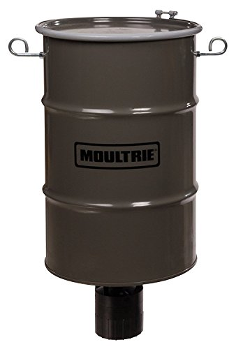 Moultrie Pro Hunter Hanging Deer Feeder | 30-Gallon | Pro Hunter Feeder Kit | 200 lb. Capacity Pro Hunter Hanging