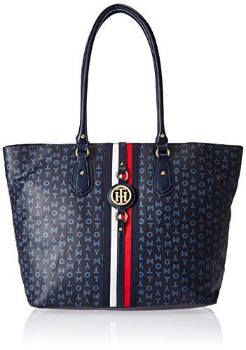 Tommy Hilfiger Travel Tote Bag for Women Jaden, Navy/Vintage Indigo ()
