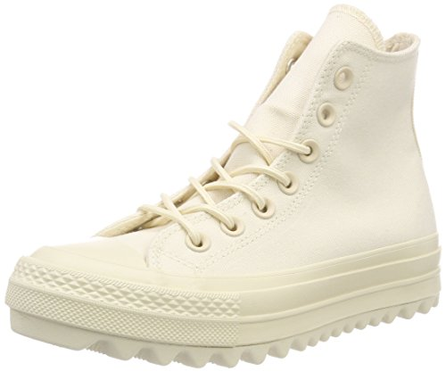 Alto Collo Hi Ripple Ctas Lift a Natural Unisex Sneaker Converse 80FPqntE
