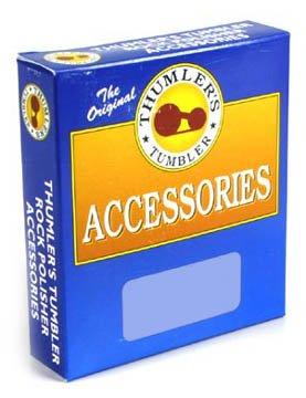 Thumler's Tumbler Rock Polisher Accessories, 24 oz. Grit Pack # 302, 8 oz. Coarse, 8 oz. Fine, 4 oz Polish, and 4 oz Prepolish