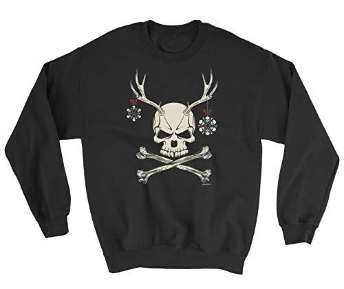 di di di Teschio Uomini Renna Le Felpe Natale Buzz Buzz Buzz Buzz Black Signore Shirts wq07nPwYv